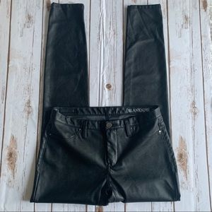 Blank NYC | Black Faux Leather Skinny Pants